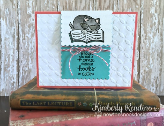 handmade card | handmade bookmark | handmade gift | newton's nook designs | clear stamps | kimpletekreativity.blogspot.com