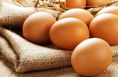Trứng một nguyên liệu giàu chất sắt.