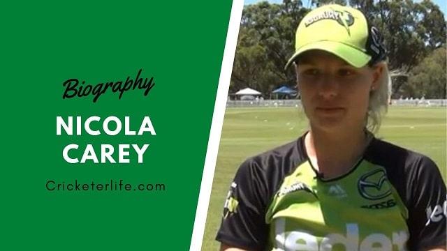 Nicola Carey profile, family, height, age, partner, etc.