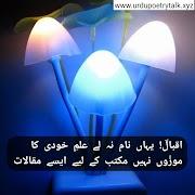 20+ allama iqbal poetry in urdu for students