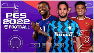 Download PES 2022 PPSSPP Update New Transfer Chelito V1.0 & HD Graphics All Camera Pack