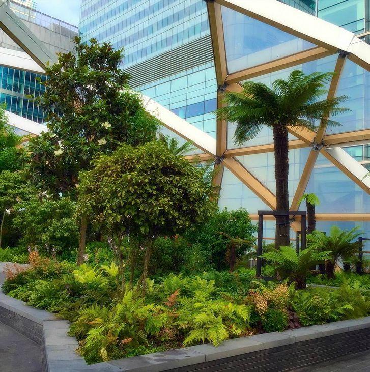 Crossrail Roof Gardens