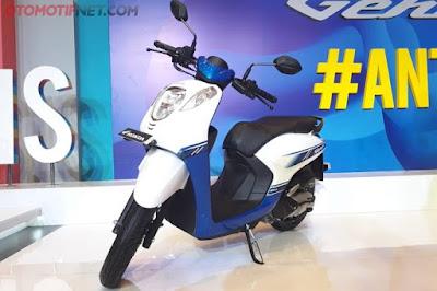 KEREN : Inilah profil fisik daripada Honda Genio yang keren dan pas untuk Milenial yang dinamis. Bisa kamu pesan sekarang loh.  Foto dari Otomotif NET
