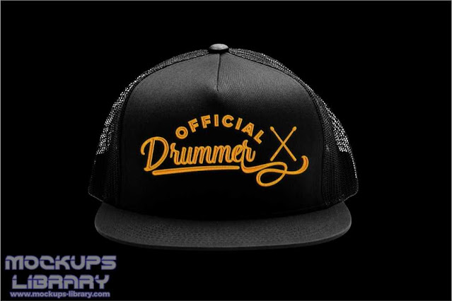 Black Cap Mockup Design