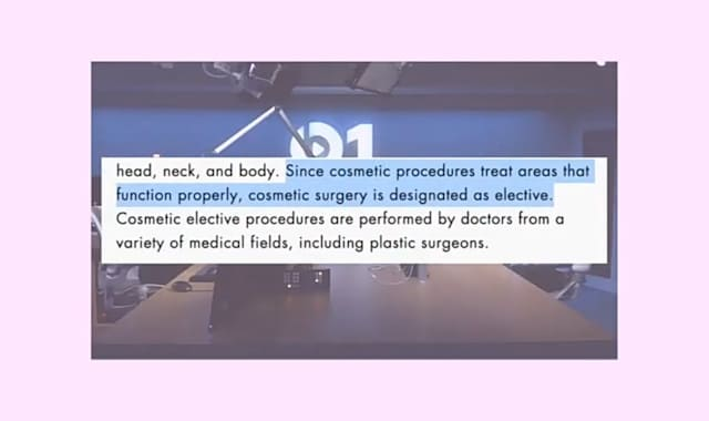 How is Cosmetic Surgery Done?