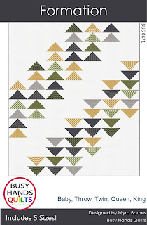 Formation Quilt Pattern by Myra Barnes of Busy Hands Quilts