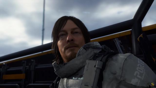 Screenshot gameplay Death Stranding PC