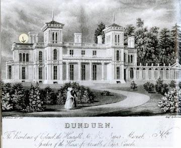 Climbing My Family Tree: Dundurn Castle, Hamilton, Upper Canada as seen in 1835