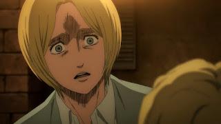 "Hellominju.com : 進撃の巨人4期 アニメ 『ダイナ・フリッツ』  | Attack on Titan ""Dina Fritz"" | Hello Anime !"