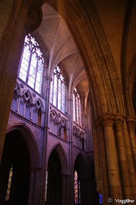 Interni della Cattedrale di Saint Vincent di Saint Malo