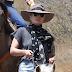 FOTOS HQ: Lady Gaga paseando en su yegua en Malibú - 09/06/16