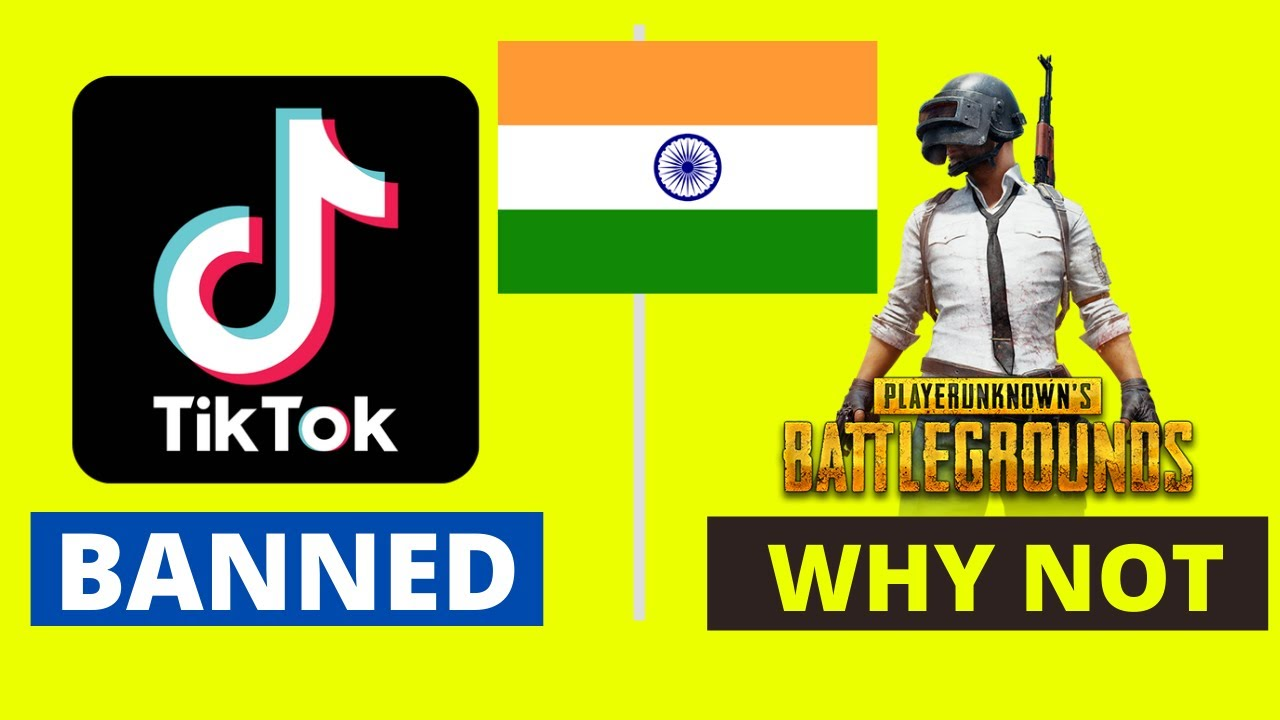 Why was TikTok banned in India but PUBG was not?