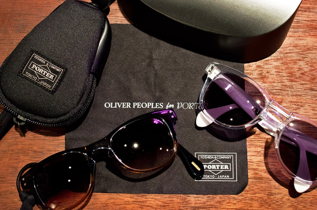 c396f4d6d6b In celebration of Porter's 50th anniversary last year, the eyewear  specialists at Oliver Peoples have teamed with the Japanese label on a line  of ...