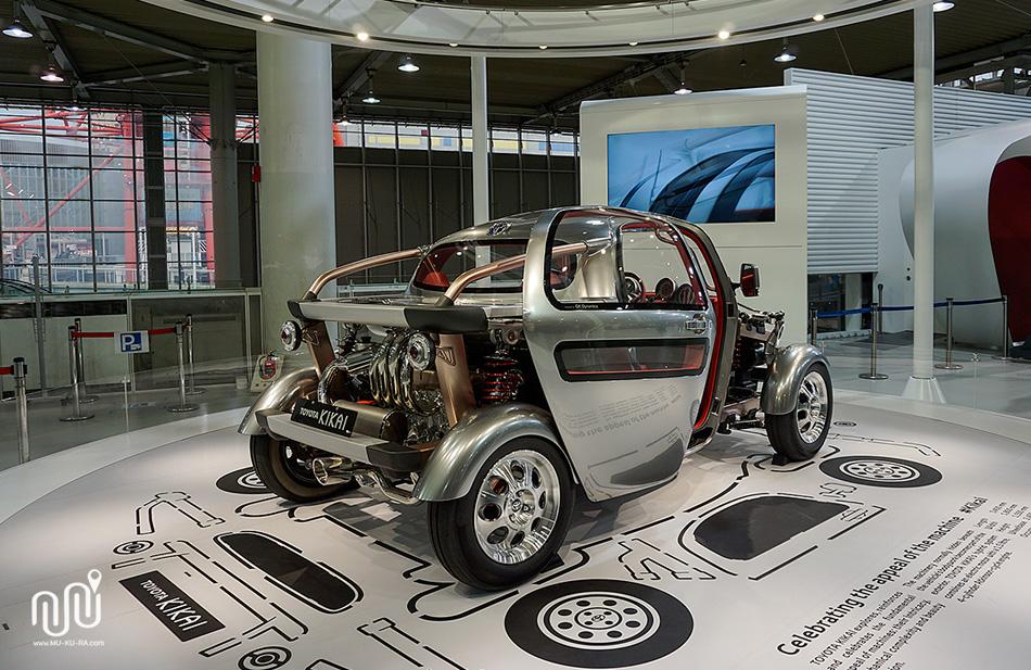 พิพิธภัณฑ์ โตโยต้า (Toyota Mega Web) ที่ odaiba