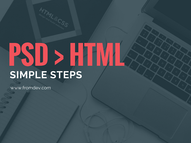 How to Use PSD in HTML