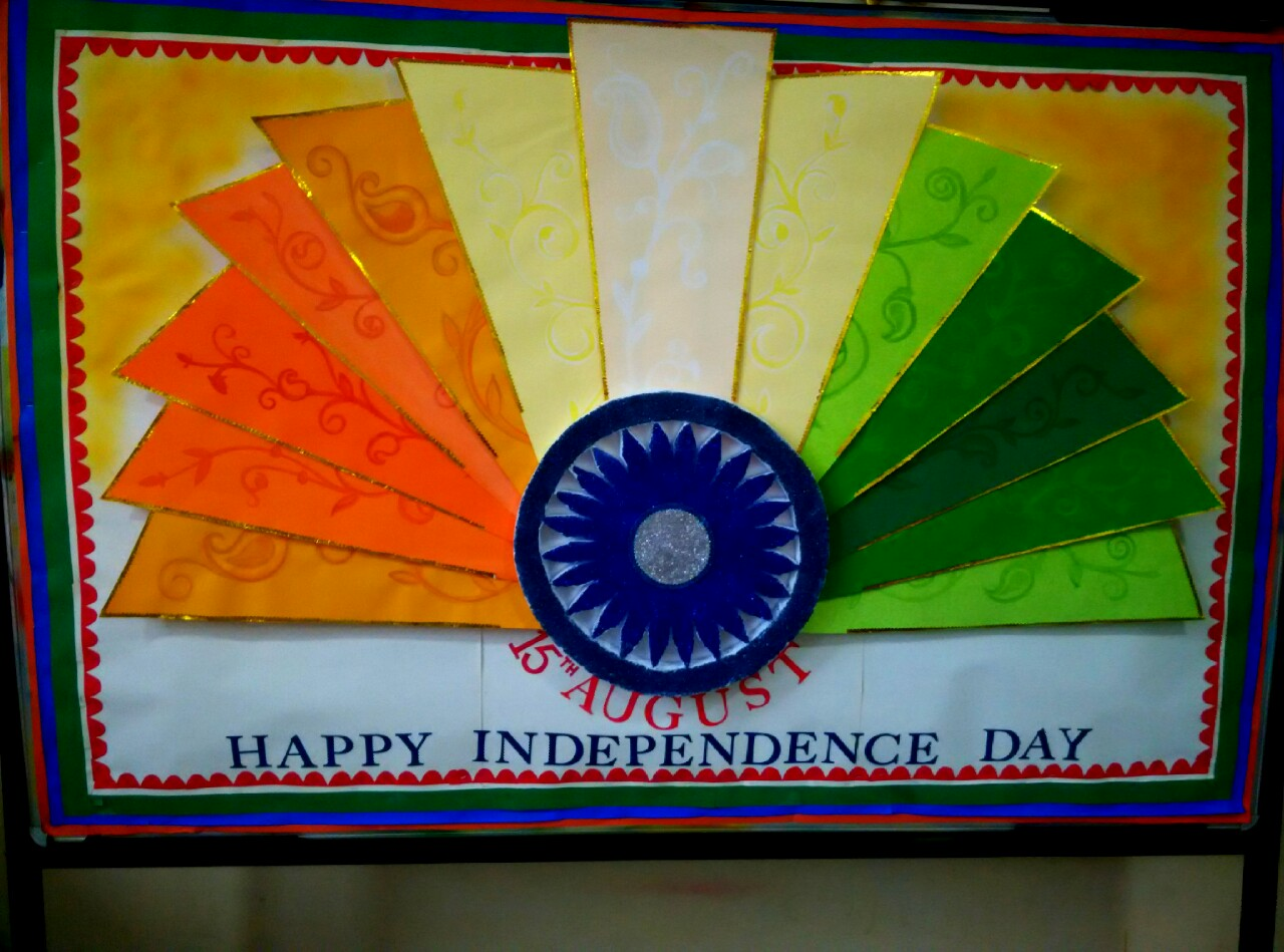 School Notice Board Decoration Ideas For Republic Day