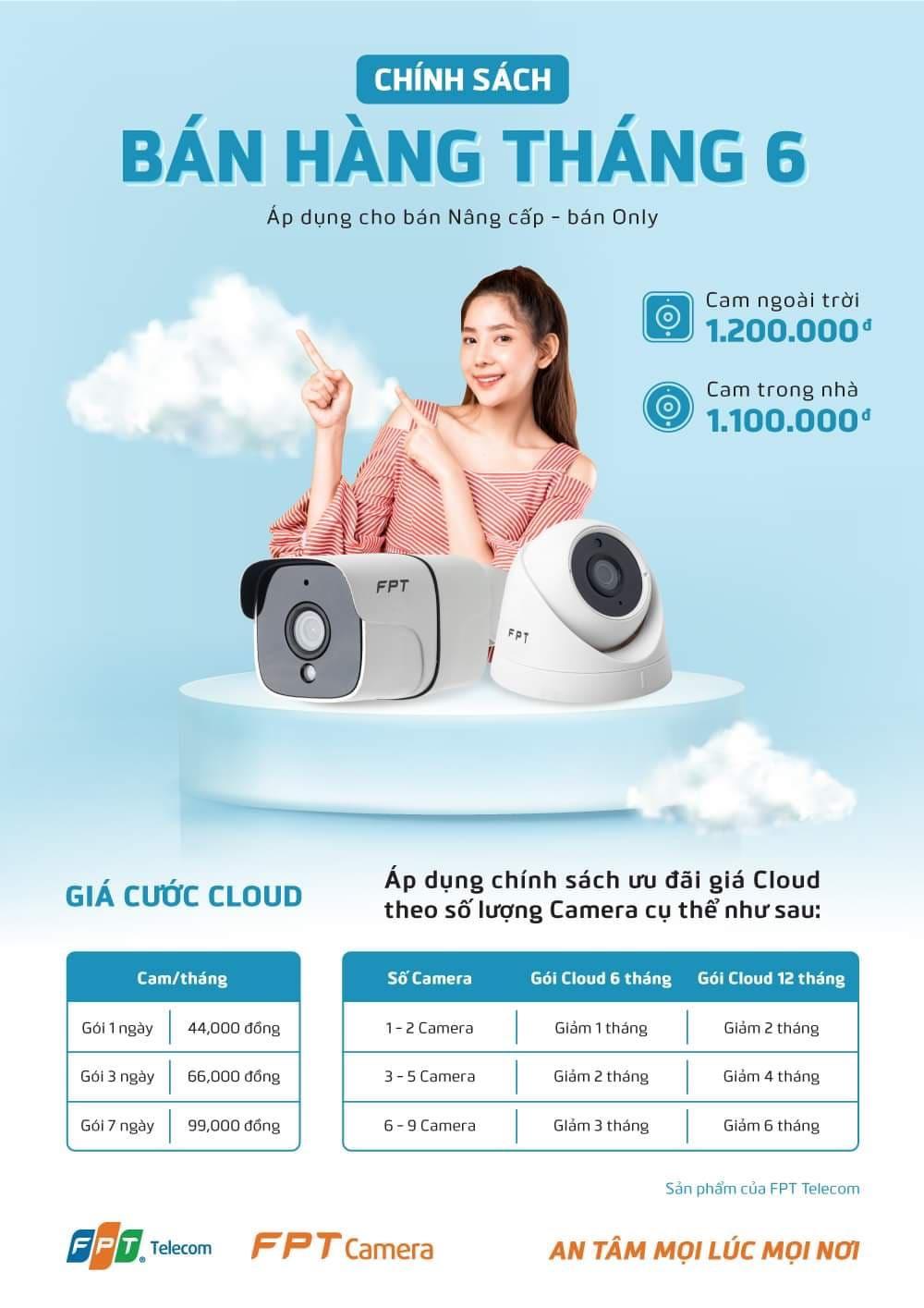 Khuyến mãi gói cước Cloud FPT tháng 6/2021