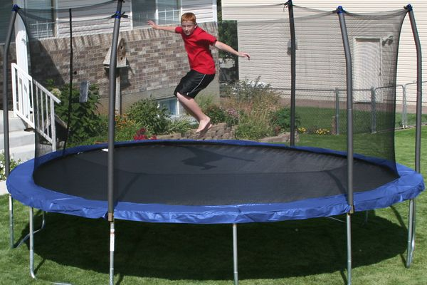 The Biggest Trampoline in the World
