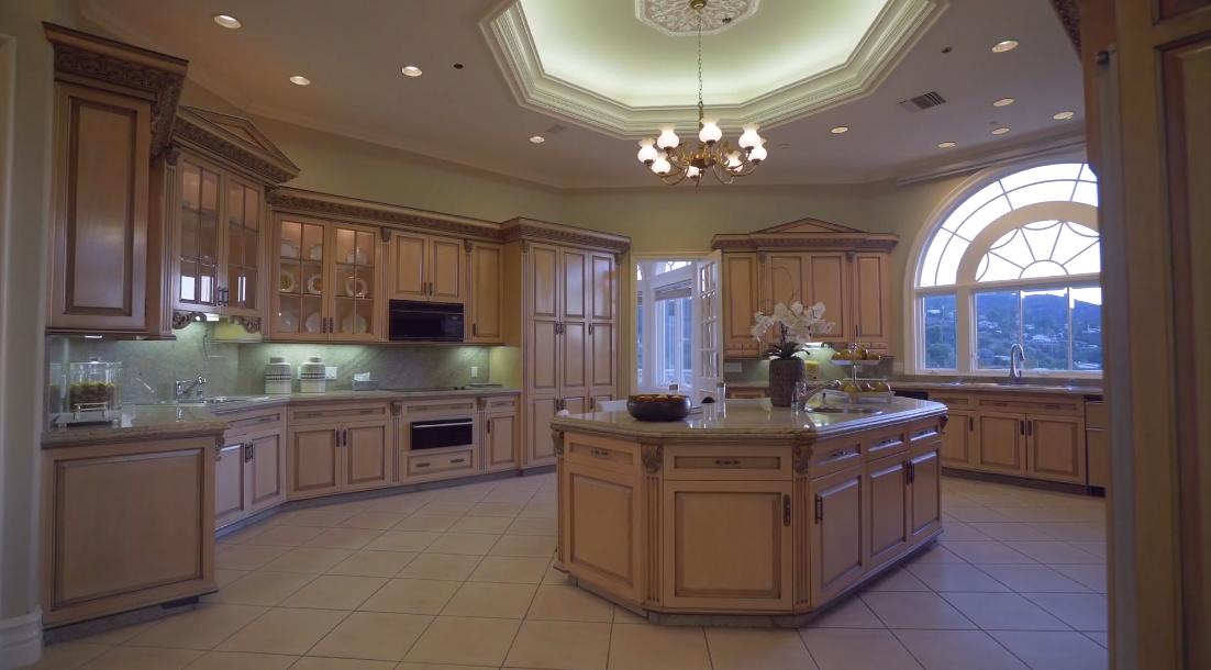 59 Interior Design Photos vs. Tour 3431 Caribeth Dr, Encino, CA Luxury Mansion