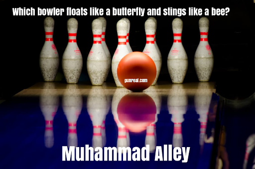 He was one of the most iconic boxers in history, but also makes for a great bowling pun.