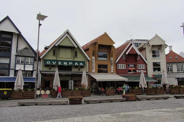 Noorwegen Stavanger havenkant