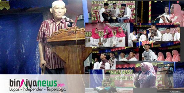 Remaja Mesjid Baiturrahman Negeri Siri Sori Islam Gelar Festival Sahur