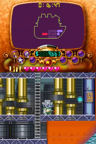 Wario: Master of Disguise Cosmic transformation form ray gun space helmet