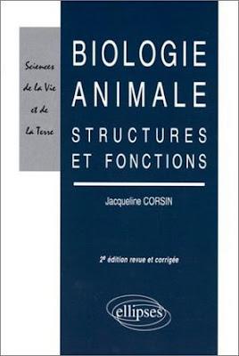 Télécharger Livre Gratuit Biologie animale - Structures et fonctions pdf