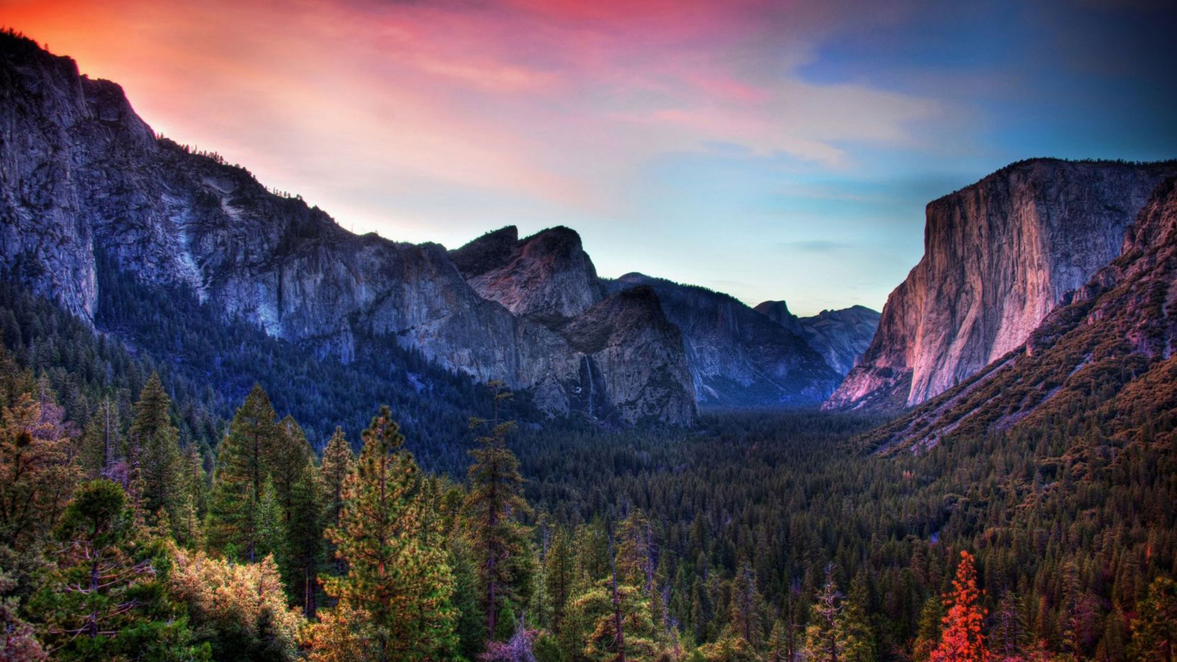 Yosemite Ulusal Parkı Ultra HD 4K Manzara Resimleri