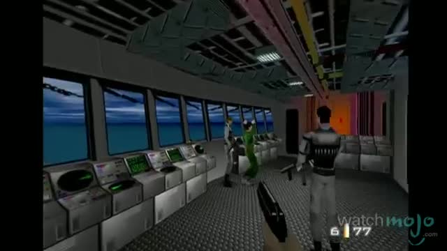 TOP 10 VIDEO GAMES OF ALL TIME 10. Goldeneye 007 (1997)