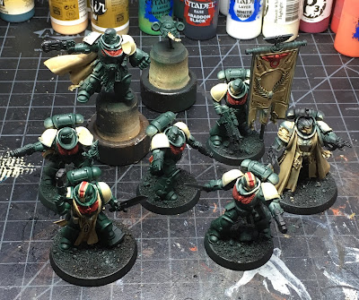 Blades of Vengeance characters WIP