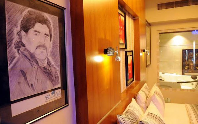 কেরালায় হোটেলের ৩০৯ নম্বর রুম বদলে গেল 'মারাদোনা  মিউজিয়াম' স্যুটে