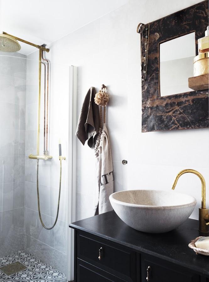 cuarto de baño con encanto