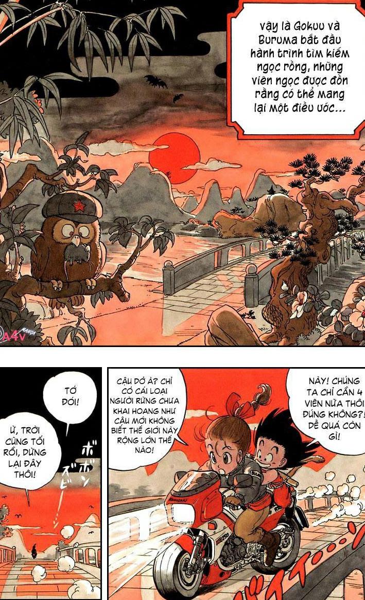 7 viên ngọc rồng Tập 1 Phần 2 - Chap 2 - No ball - Đọc truyện tranh online