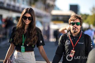 Current Condition Fernando Alonso C A C C S Girlfriend Linda Morselli