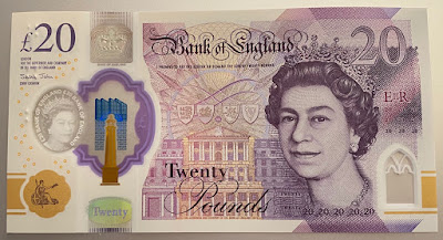 £20 Note From 2020