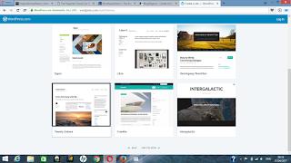 create a wordpress.com account