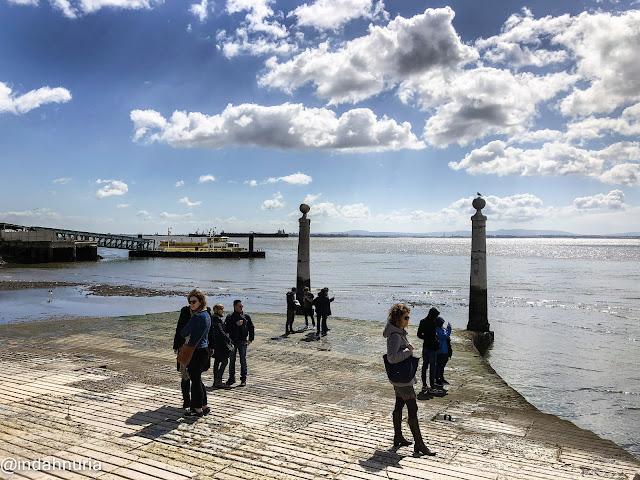 Tejo River, Lisbon, Portugal