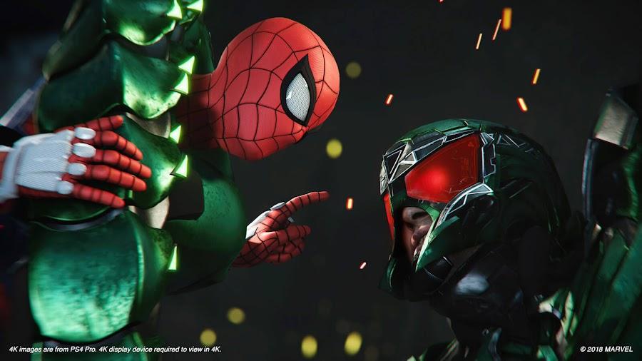 spider man e3 2018 ps4 gameplay scorpion