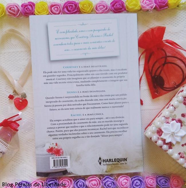 Resenha, livro, As-filhas-da-noiva, Susan-Mallery, Harlequin, blog-literario, petalas-de-liberdade, capa, romance, sinopse