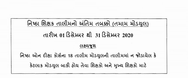 Timeline and Circular for the Second Phase of NISHTHA Training For Teachers