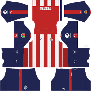 419605f8704 Kits y Escudos para DLS.com: Chivas Guadalajara