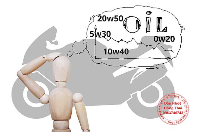 Tôi sẽ sử dụng dầu động cơ nào cho chiếc xe máy?
