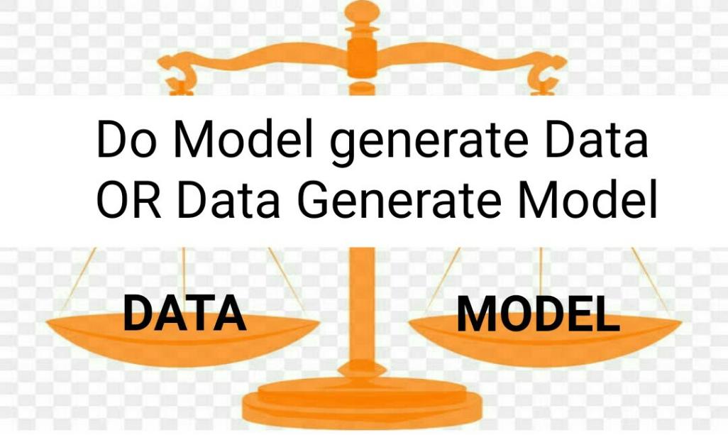 Do Model generate Data OR Data Generate Model