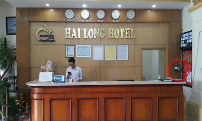 Lắp đặt máy chấm công cho khách sạn