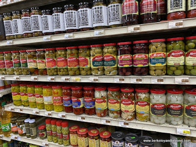 pickled items at Cunha's Country Store In Half Moon Bay, California