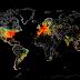 Mapa mostra tudo o que está conectado à internet