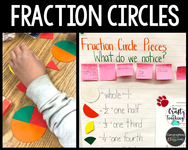 Fraction Circles and Anchor Chart