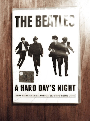 The Beatles dvd a hard days night