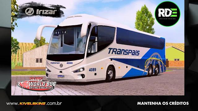 IRIZAR i8 - VIAÇÃO TRANSPAIS (MÉXICO)